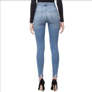 Good American Good Waist High Rise Skinny Jean 25